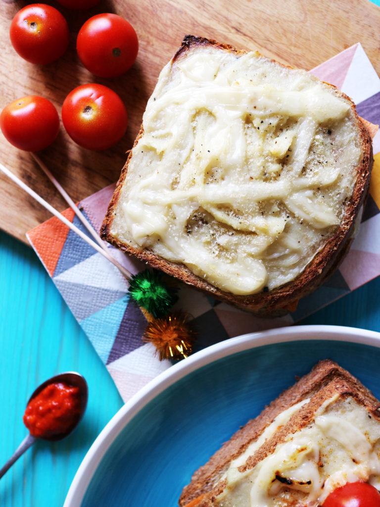 croque monsieur vegan ricetta