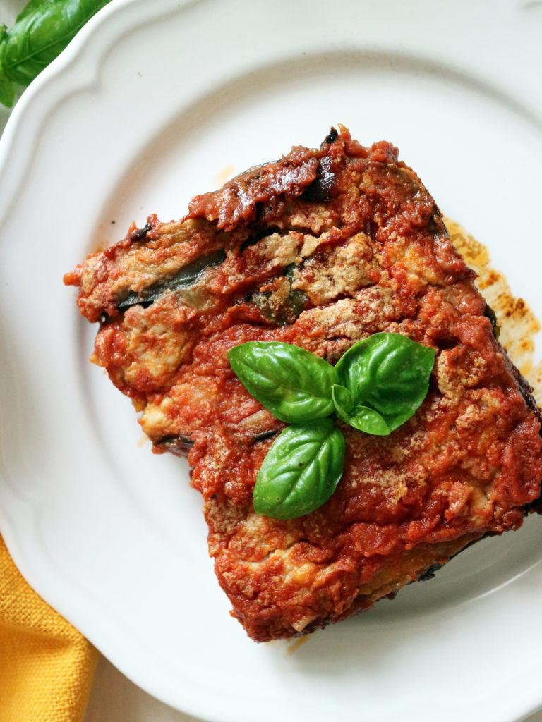 melanzane alla parmgiana vegan ricetta