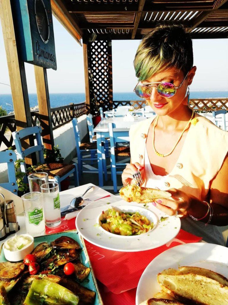 mangiare vegano a Kos