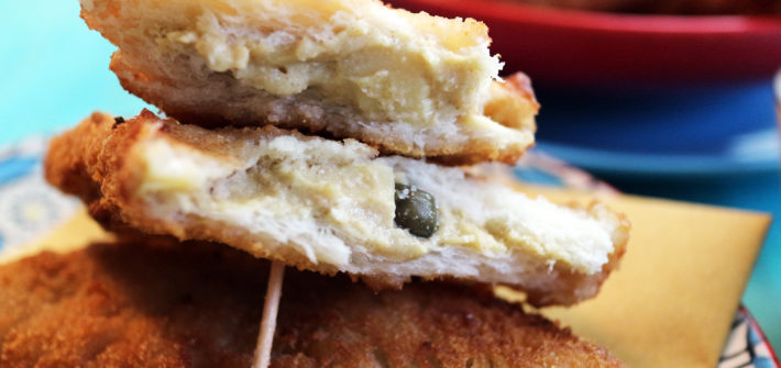mozzarella in carrozza vegan