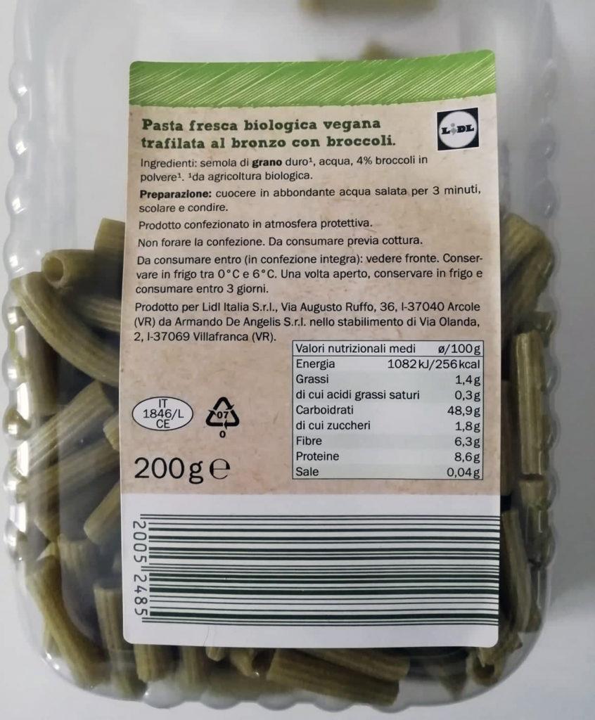 pasta fresca my best veggie lidl