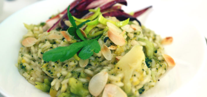 risotto ai broccoli vegan