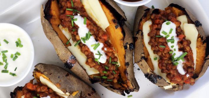patate ripiene vegan jacket potatoes