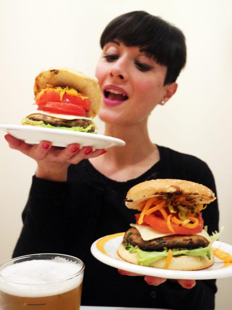 Portobello burger vegan ricetta