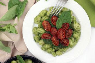 gnocchi agli spinaci vegan