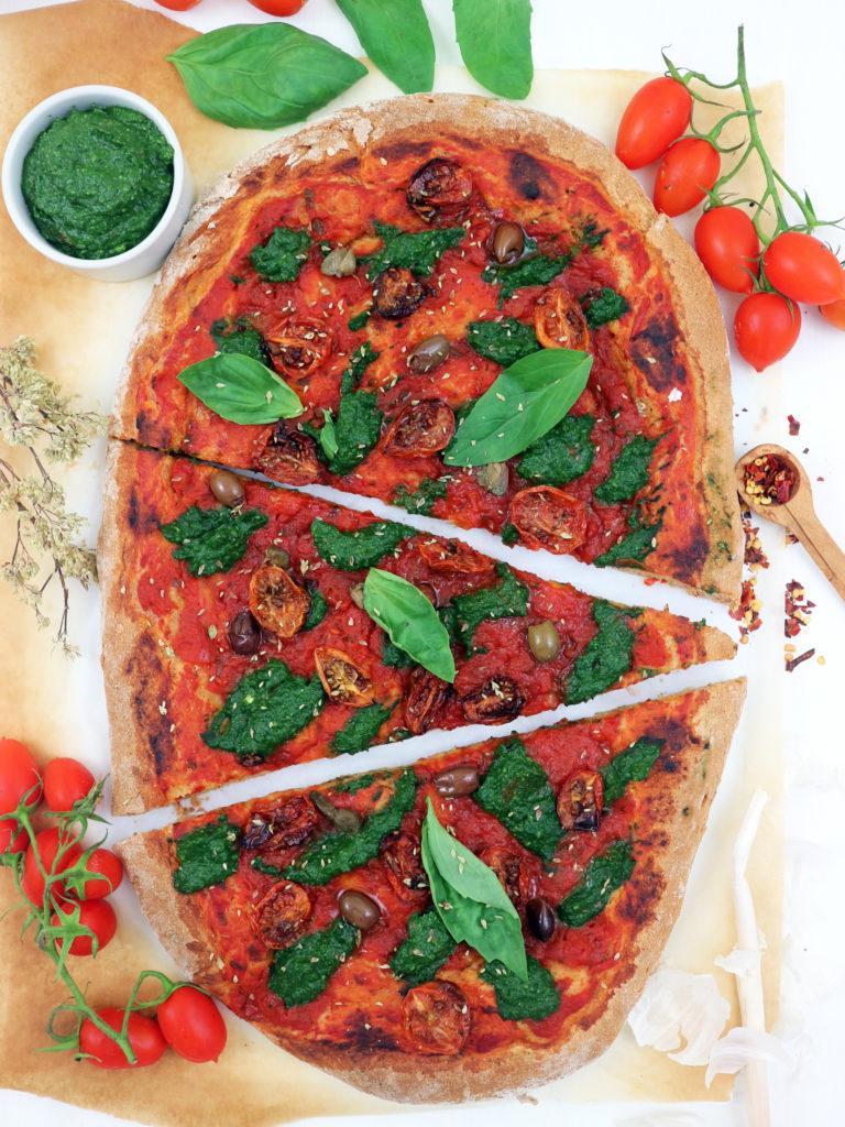 pizza impasto al peperoncino