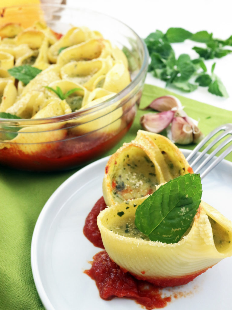 pasta al forno vegan alle zucchine
