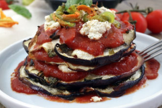 Parmigiana di melanzane vegan light