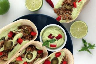 Tacos vegani ricetta