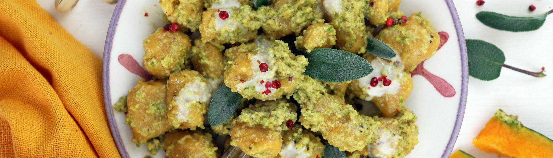 gnocchi di zucca vegan senza patate