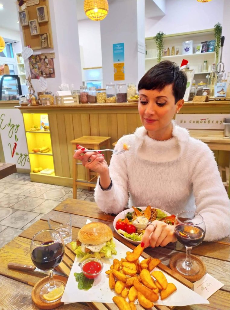 ristoranti vegani Sofia Bulgaria