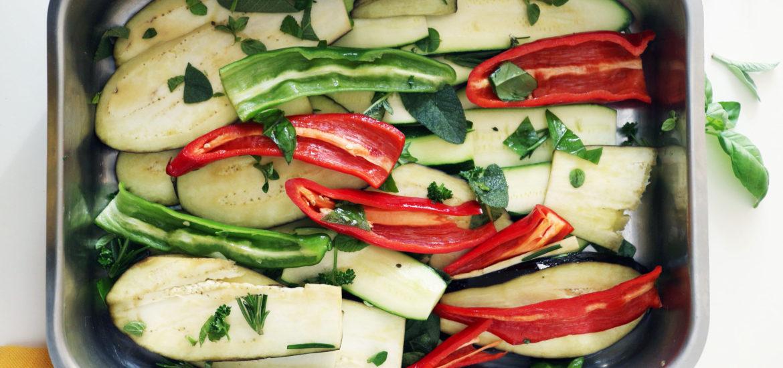 come marinare le verdure grigliate