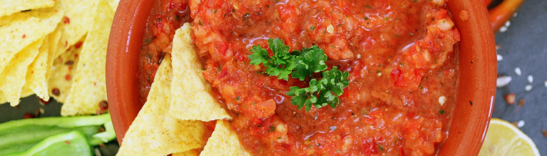 salsa di pomodoro per crostini e aperitivo