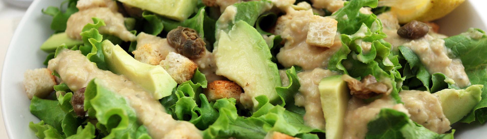 caesar salad vegan ricetta