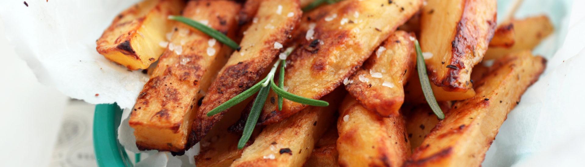 patatine fritte al forno croccanti