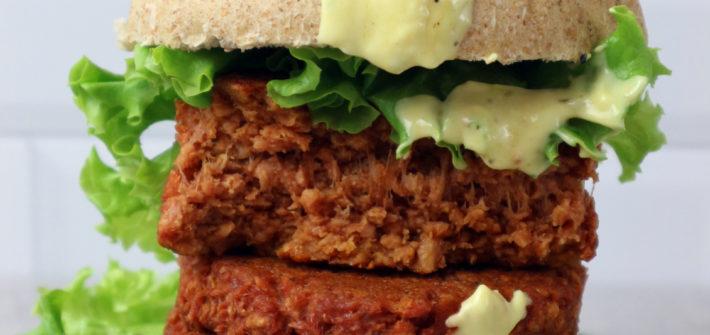hamburger vegani fatti in casa